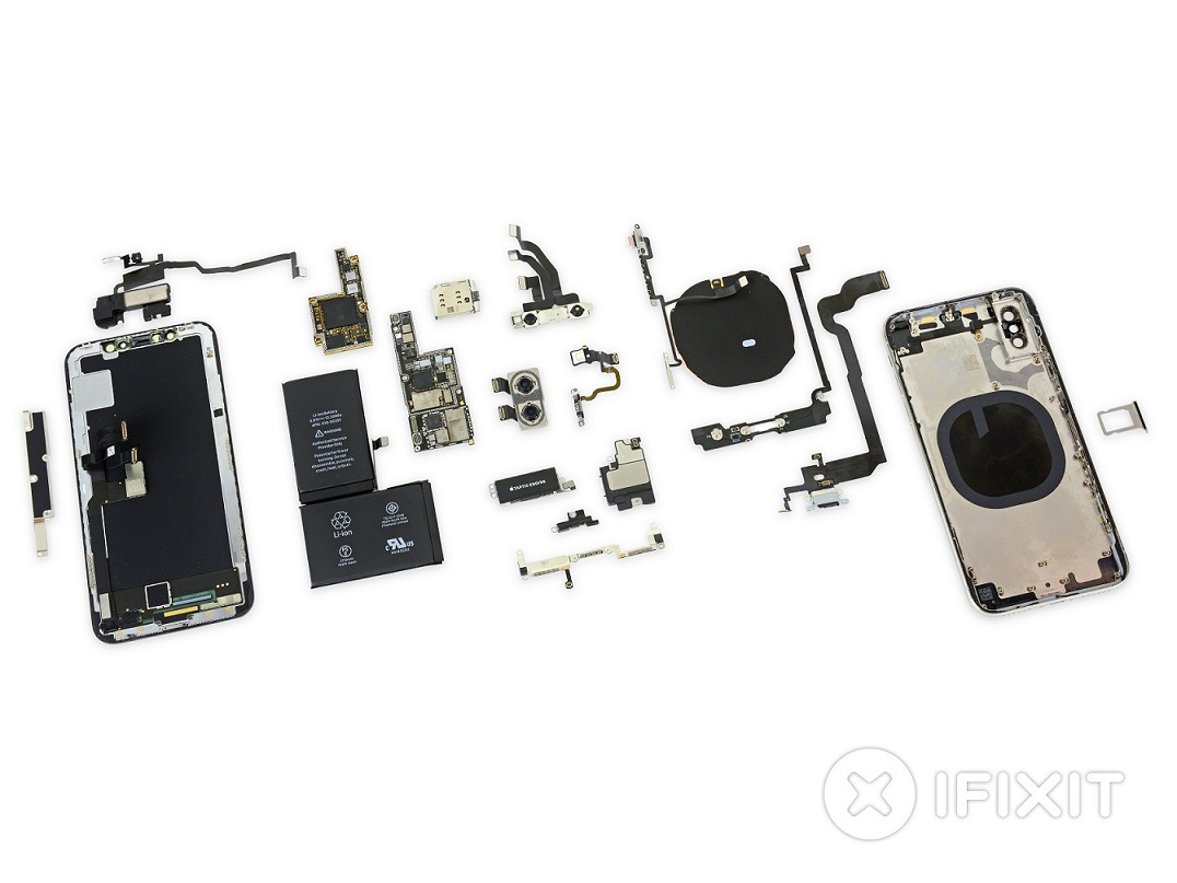 iPhone X internal components