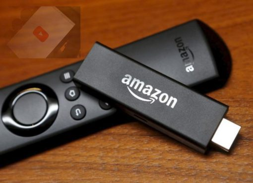 Amazon Fire Stick (with YouTube logo)